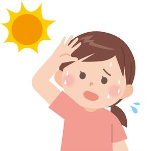 紫外線が産後抜け毛の原因に
